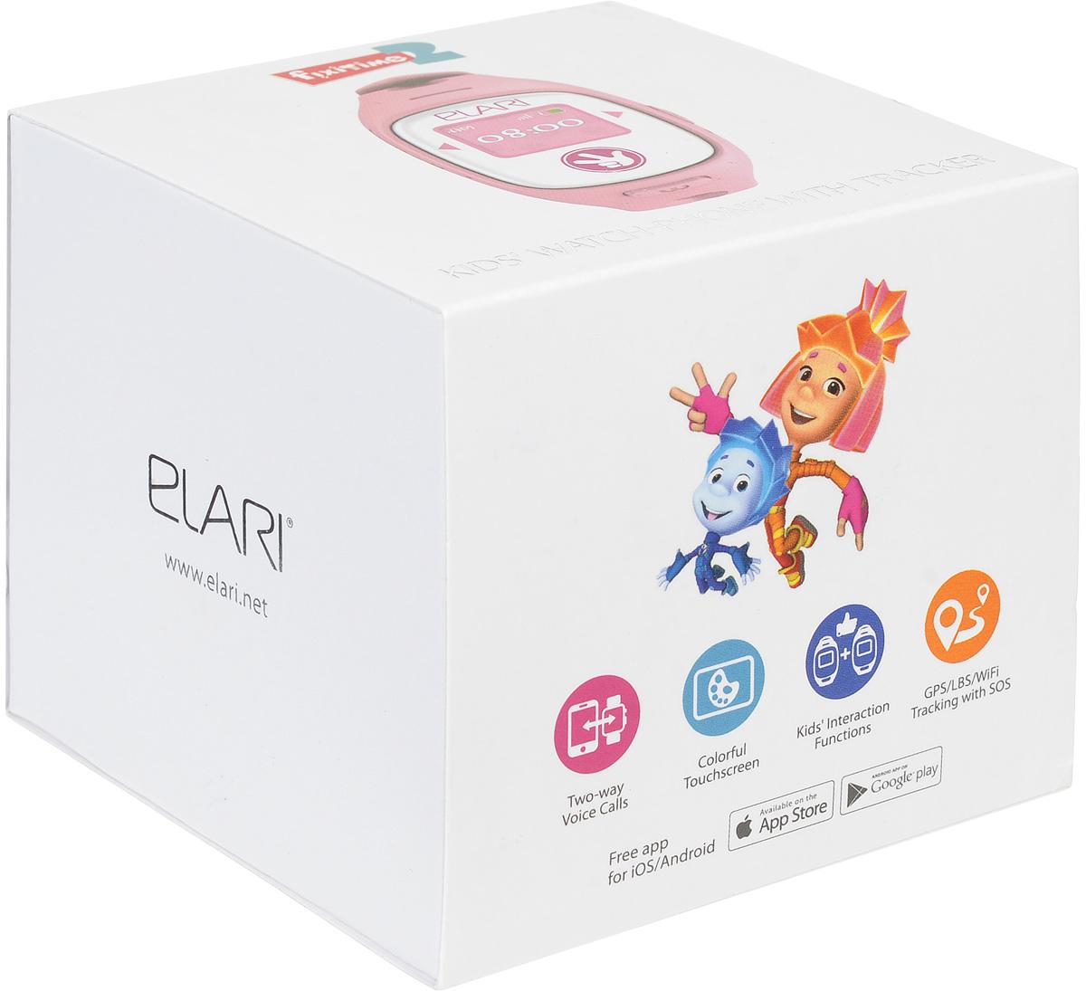 Elari Fixitime 2, Pink часы-телефон