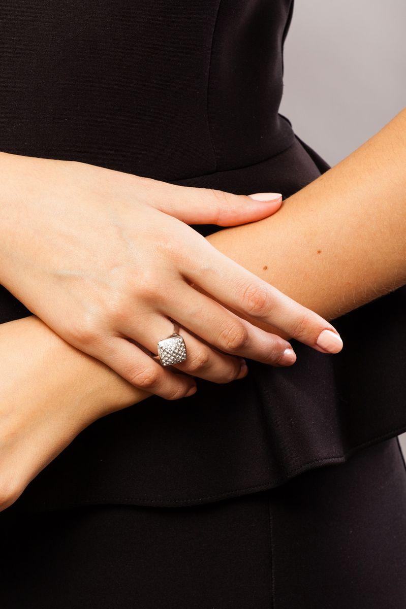 """Кольцо Jenavi """"Мириада. Харди"""", цвет: серебристый. r632f000. Размер 21"""