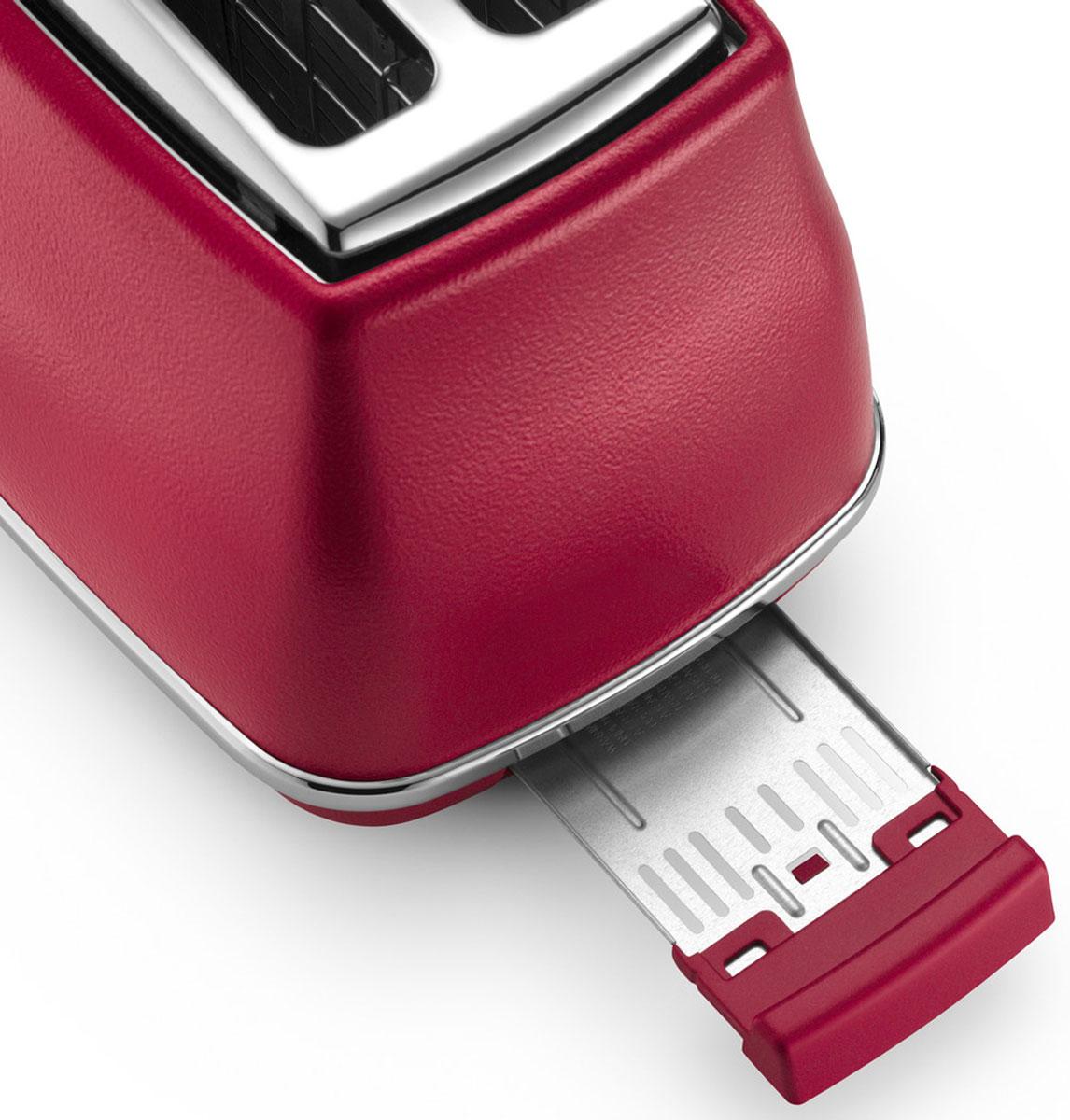 DeLonghi Icona Elements CTOE2103.R, Red тостер