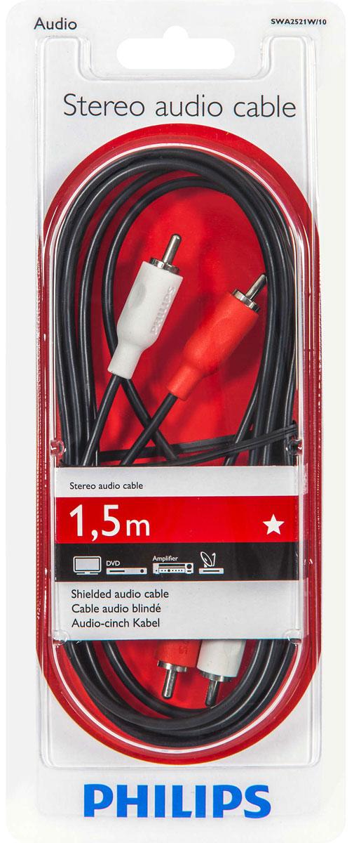 Philips SWA2521W/10 стерео аудиокабель, 1,5 м