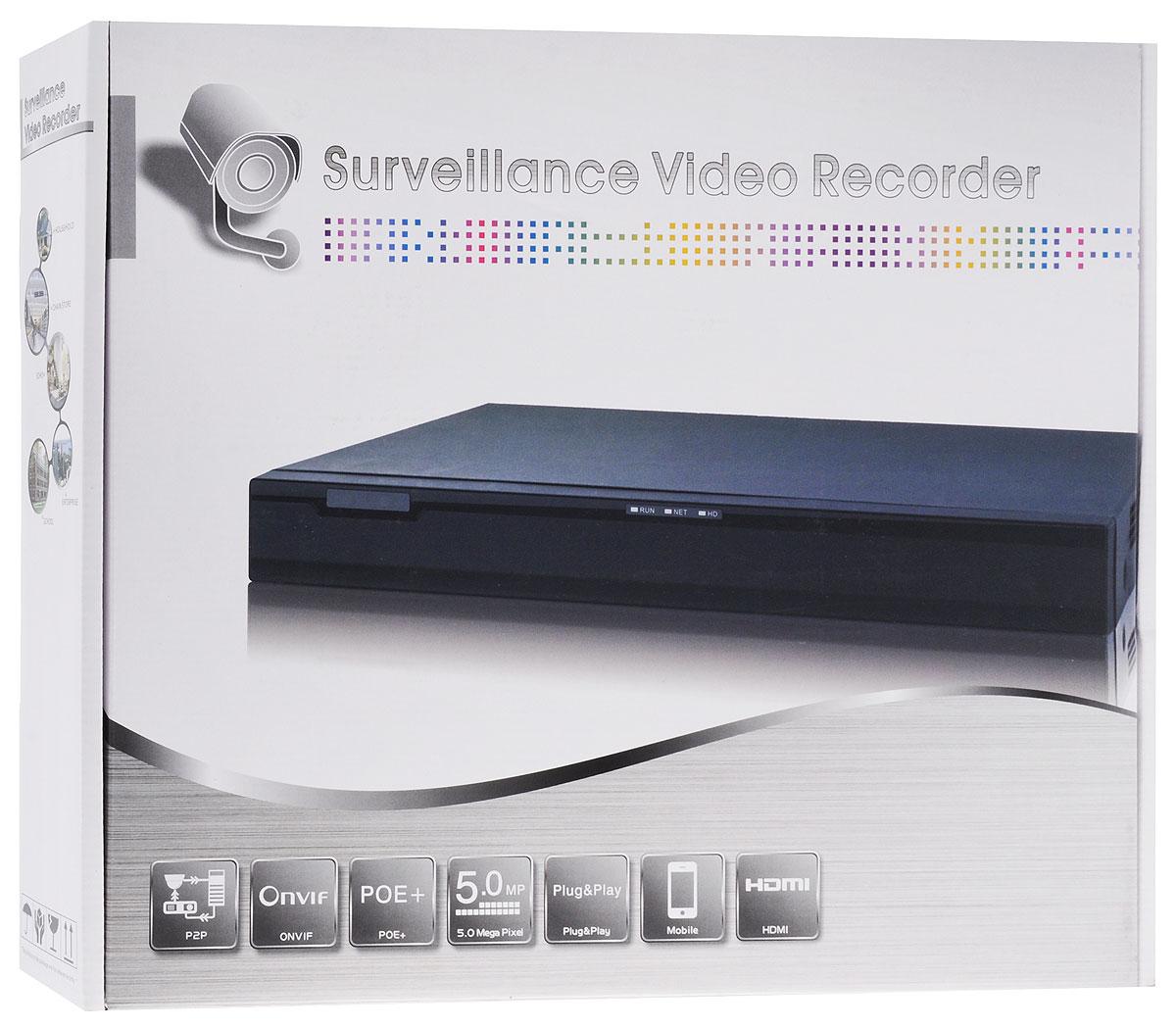 IVUE NVR-882K25-Н2 регистратор системы видеонаблюдения