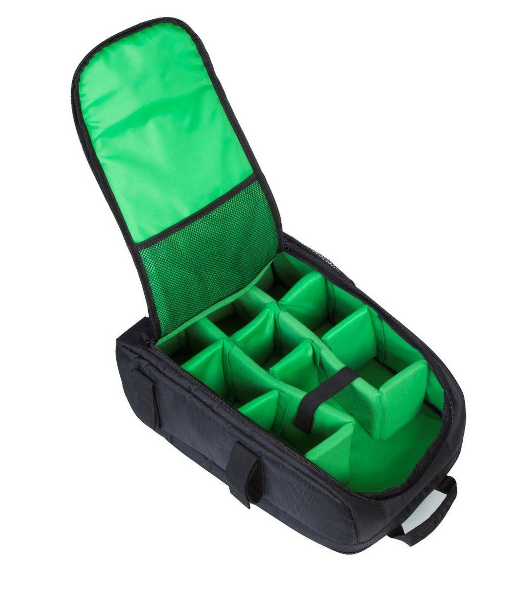 Riva 7490 SLR Backpack, Black рюкзак для зеркальной фотокамеры