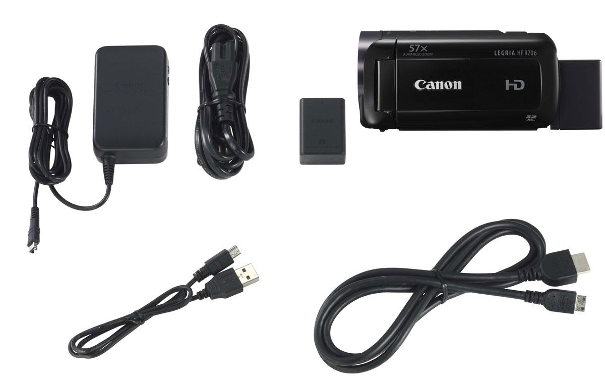 Canon LEGRIA HF R706, Black цифровая видеокамера
