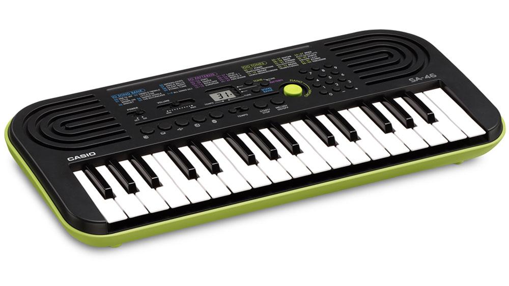 Casio SA-46, Green цифровой синтезатор