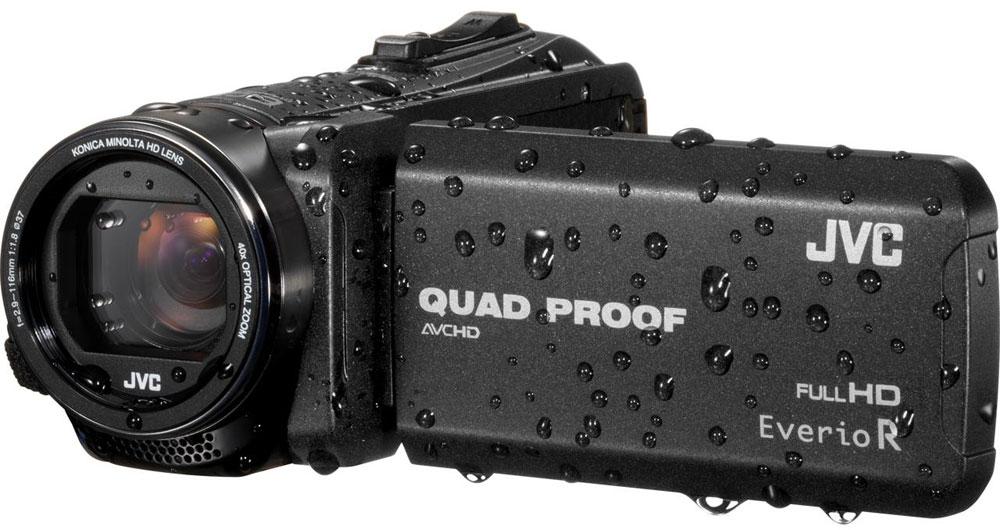 JVC GZ-R415, Black цифровая видеокамера