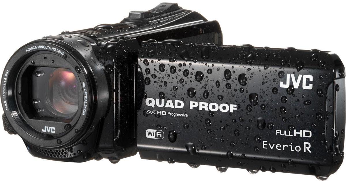 JVC GZ-RX610, Black цифровая видеокамера