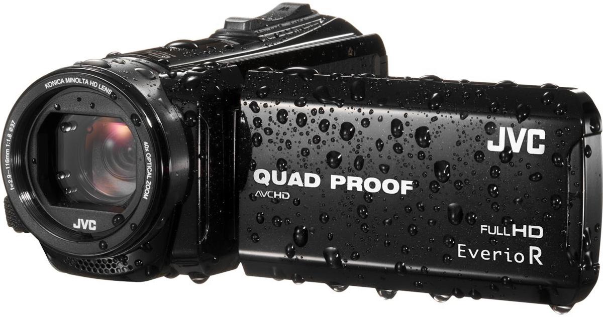 JVC GZ-R410, Black цифровая видеокамера