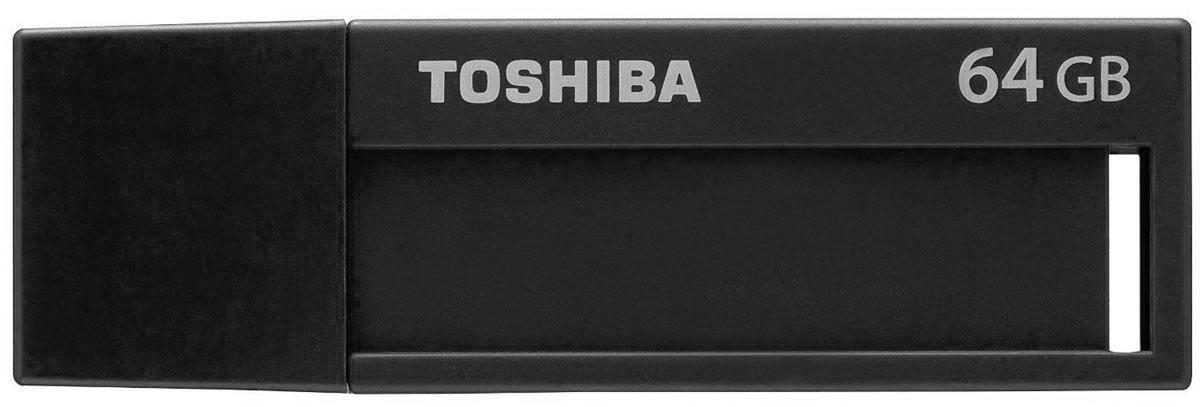 Toshiba U302 64GB, Black флеш-накопитель