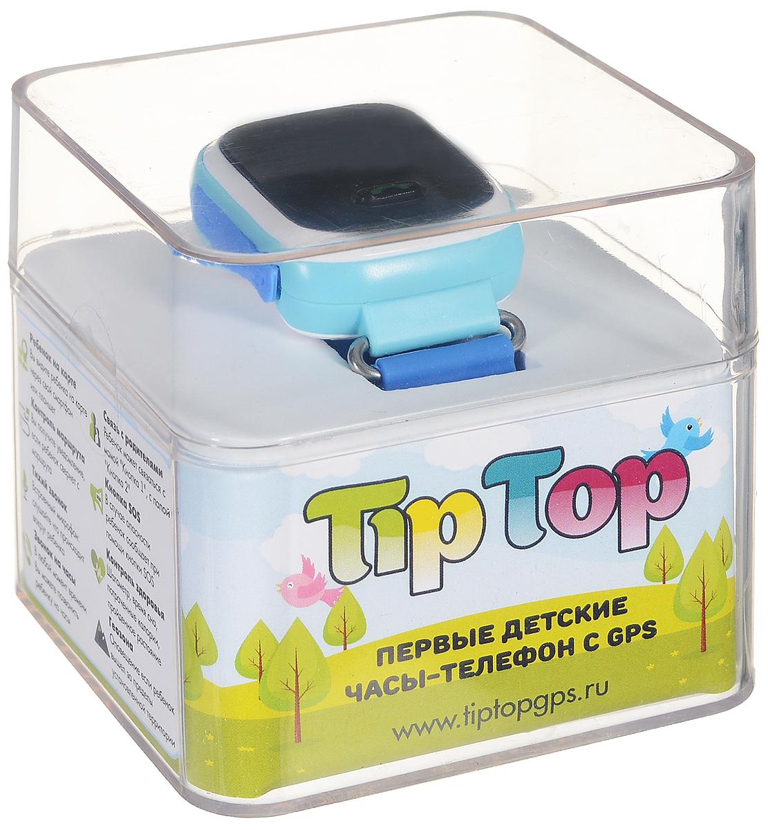 TipTop 60Ц, Light Blue детские часы-телефон