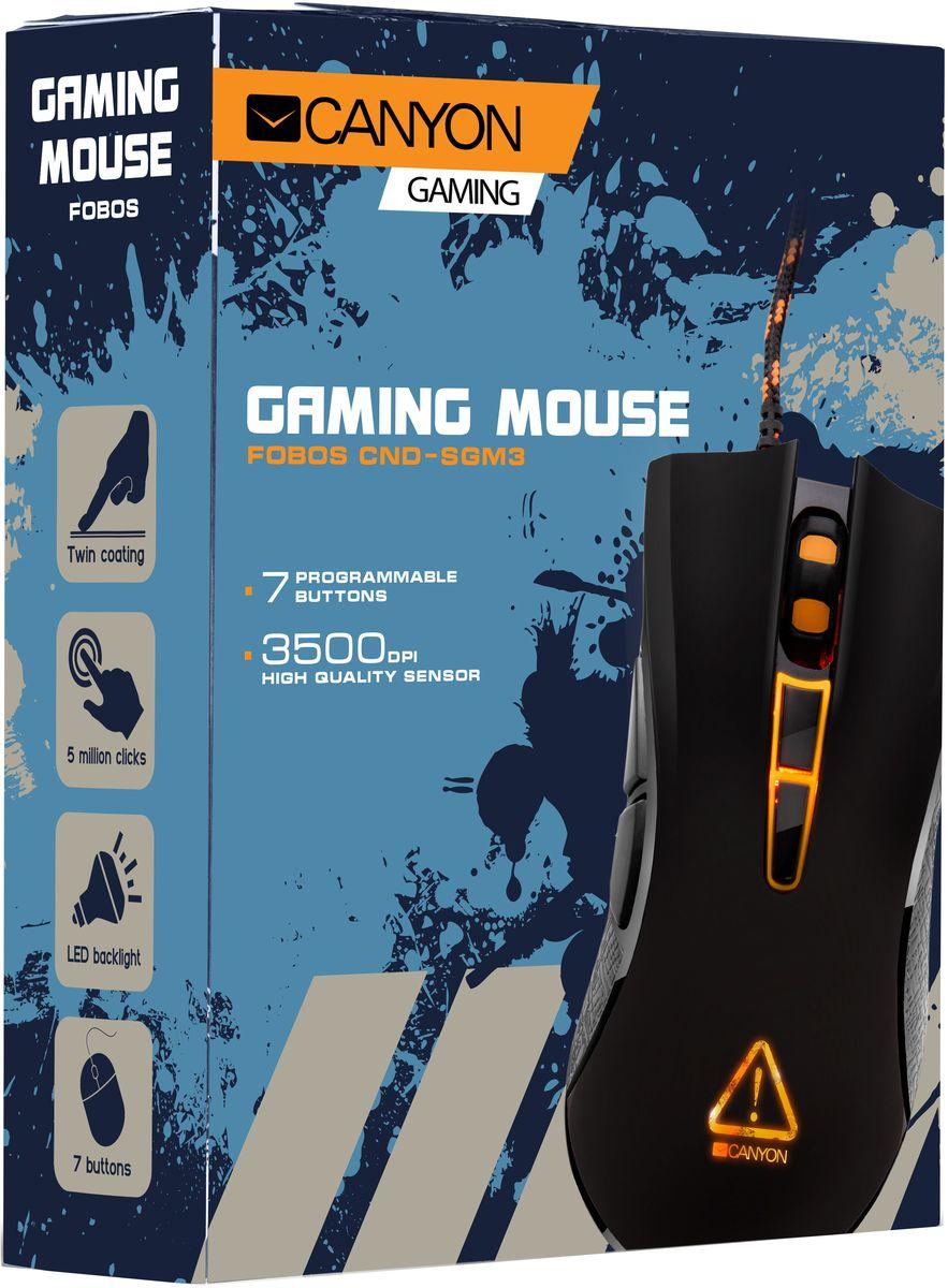 Canyon Fobos игровая мышь (CND-SGM3)