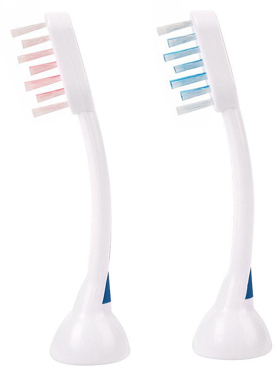 Emmi-Dent E2 комплект стандартных насадок для ультразвуковой щетки, 2 шт