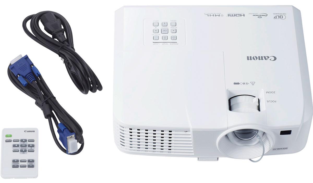 Canon LV-WX320 мультимедийный проектор