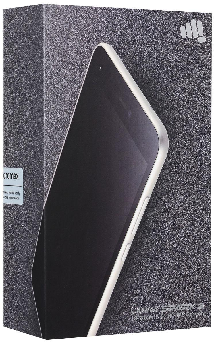 Micromax Canvas Spark 3 Q385, Black