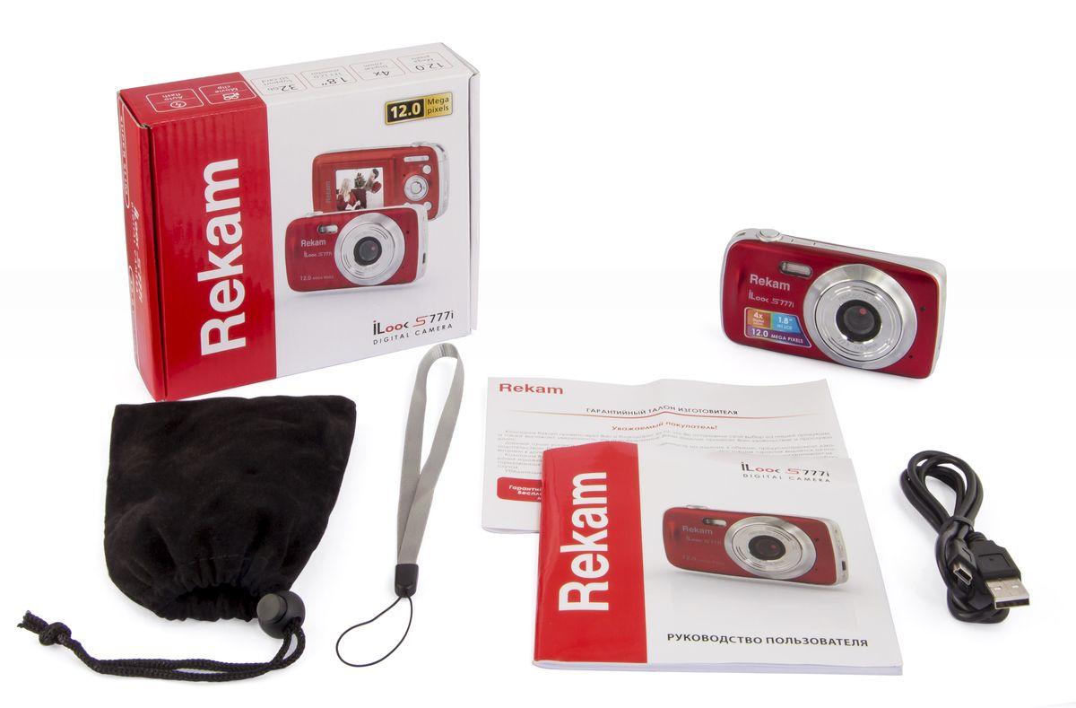 Rekam iLook S777i, Red цифровая фотокамера