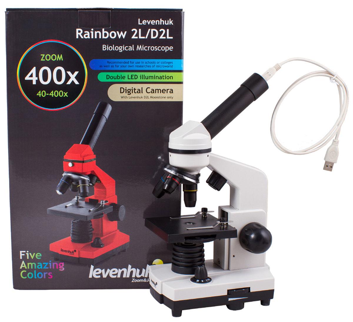 Levenhuk Rainbow D2L, Moonstone микроскоп