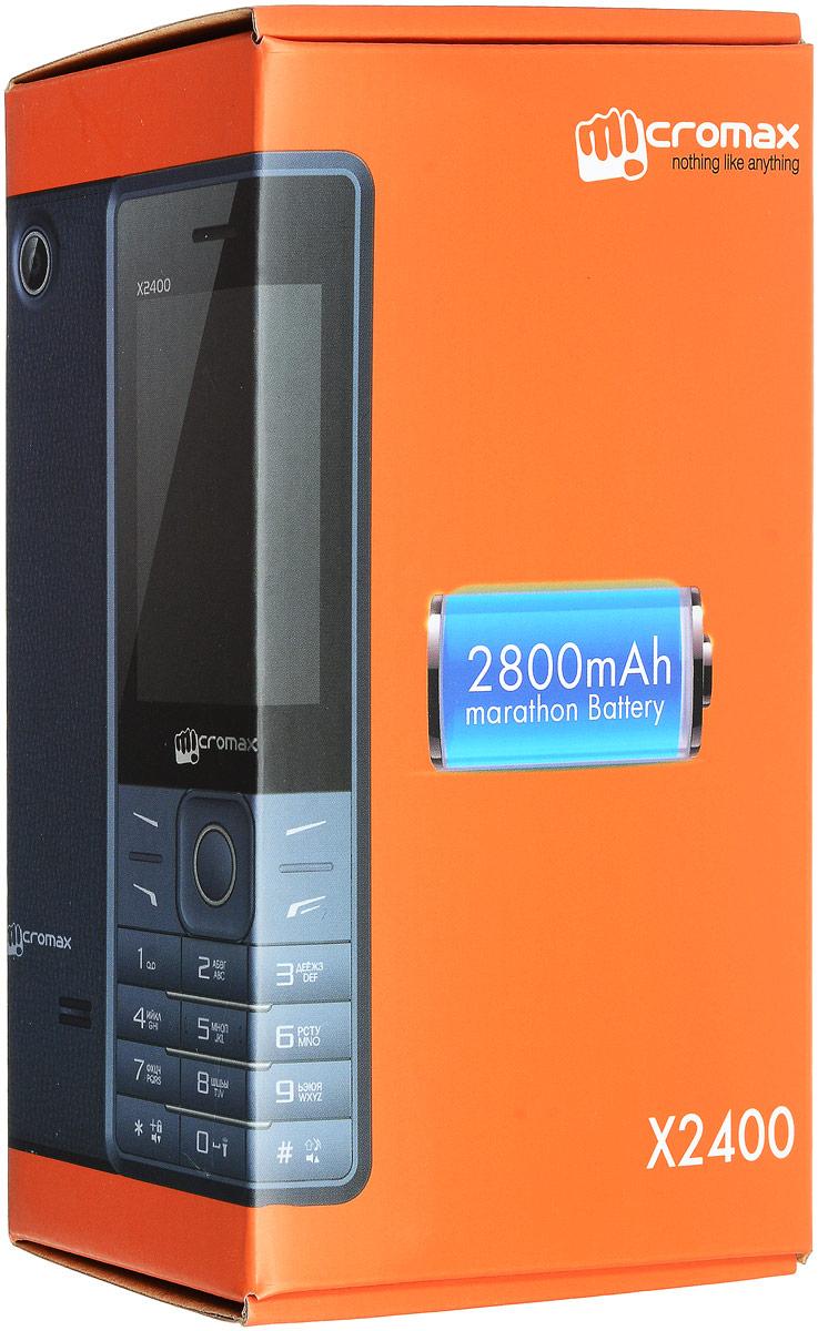 Micromax X2400, Blue