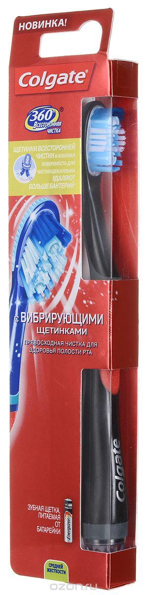 Colgate 360 Sonic Power электрическая зубная щетка, цвет: черный