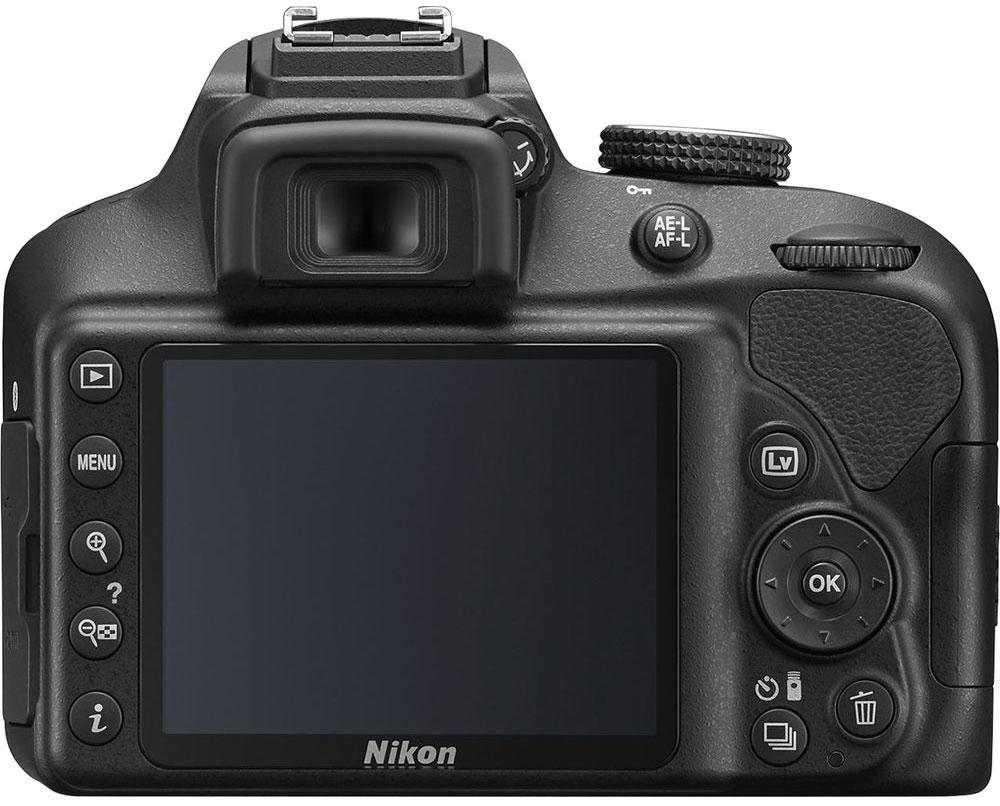 Nikon D3400 Kit 18-55 AF-P VR, Black цифровая зеркальная камера