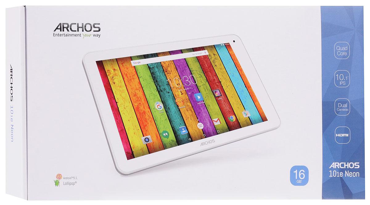 Archos 101E Neon 16GB, White Grey