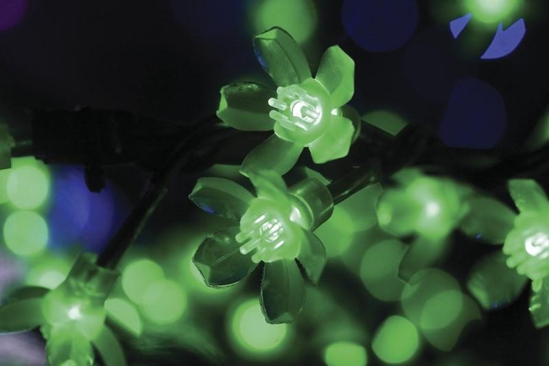 """Светодиодное дерево Neon-Night """"Сакура"""", цвет: зеленый, диаметр кроны 180 см, высота 150 см"""