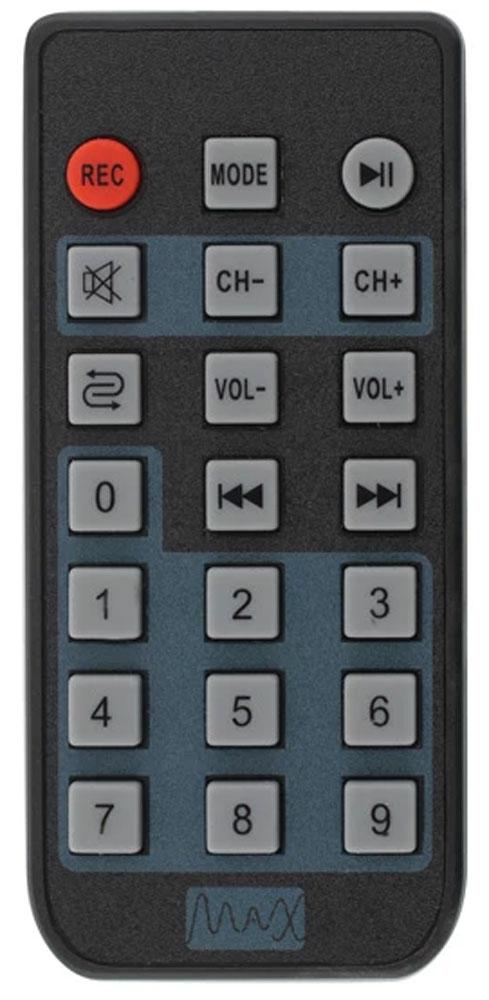 MAX Q71, Red Black портативная акустическая система