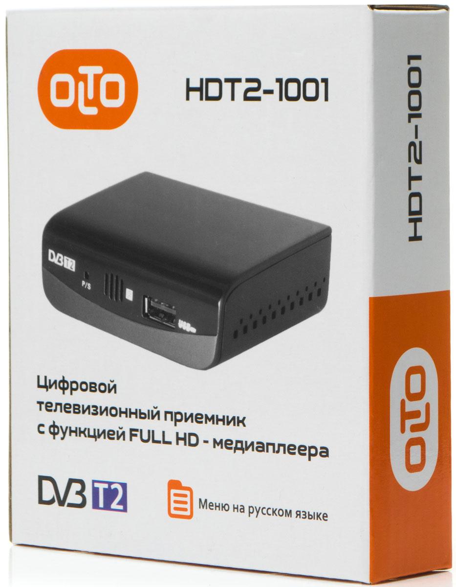 OLTO HDT2-1001, Black ТВ-ресивер