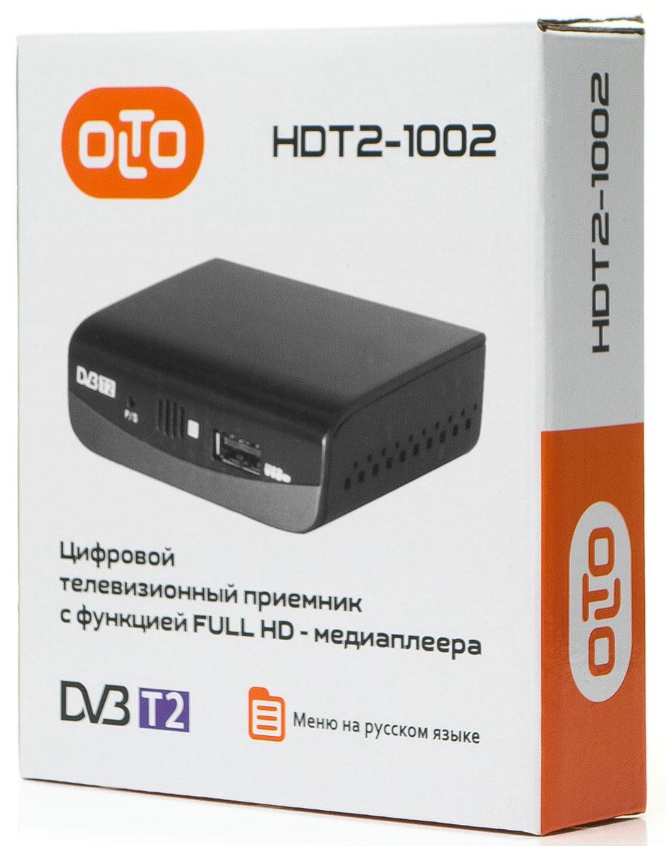 OLTO HDT2-1002, Black ТВ-ресивер