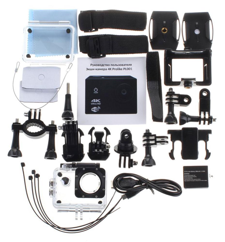Prolike 4K PLAC001BK, Black экшн-камера