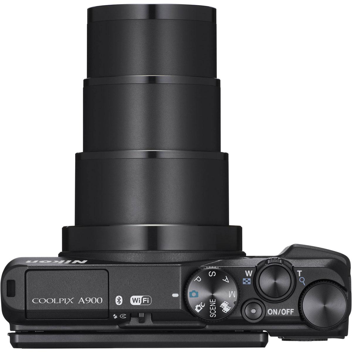Nikon Coolpix A900, Black цифровая фотокамера