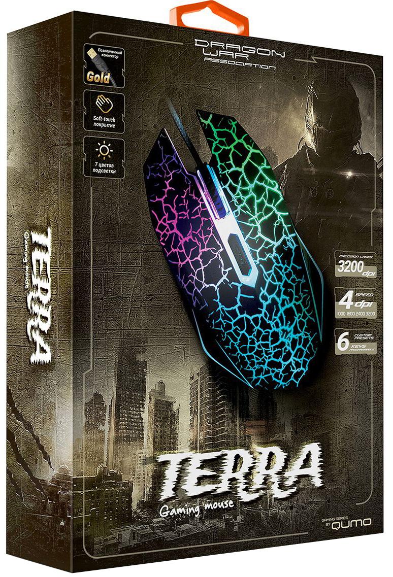 Qumo Dragon War Terra мышь игровая