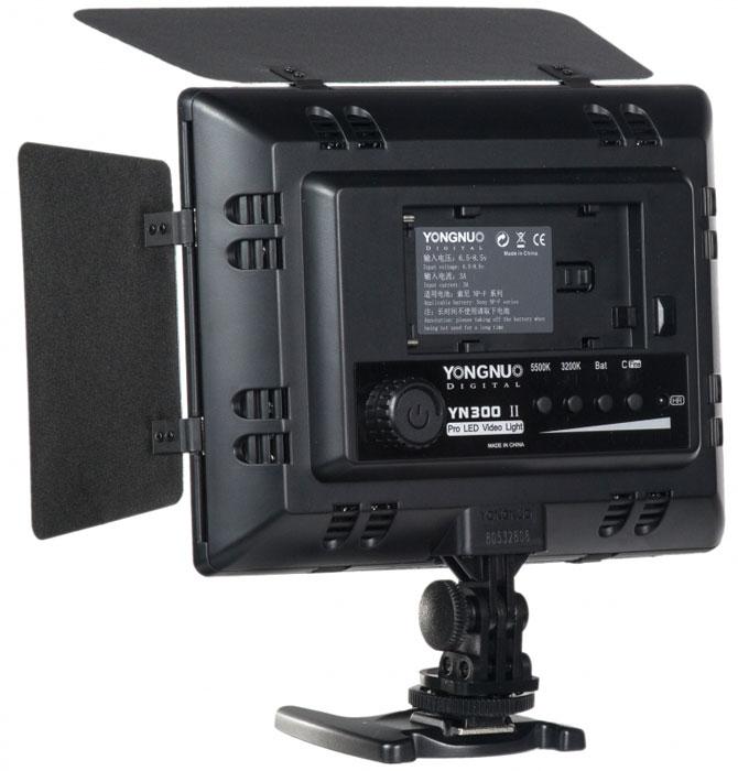 YongNuo LED YN-300II осветитель светодиодный для фото и видеокамер с ду