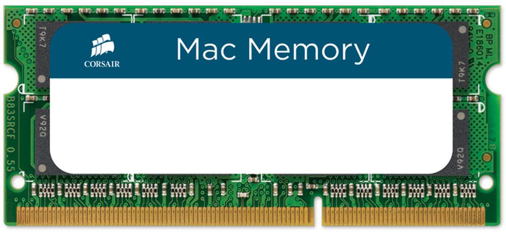 Corsair Mac Memory DDR3 4Gb 1066 МГц модуль оперативной памяти (CMSA4GX3M1A1066C7)