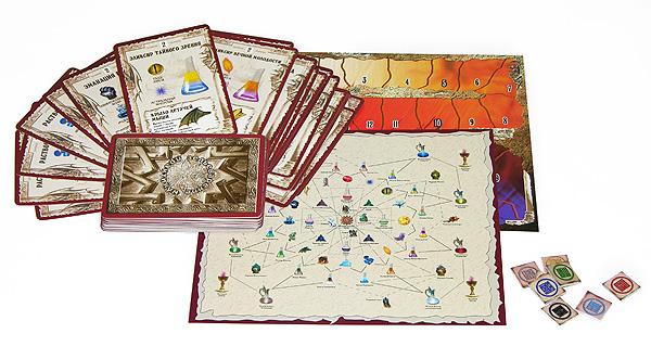 Hobby World Настольная игра Зельеварение Практикум Базовый набор ( 05-01-01 )