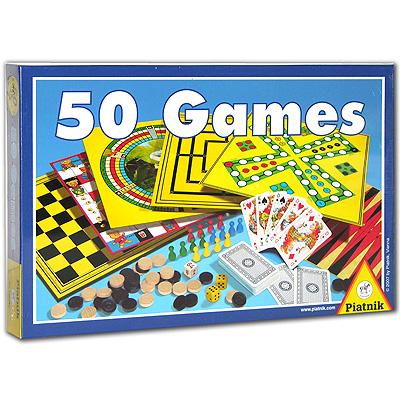 Piatnik Настольная игра 50 Games ( 780042 )