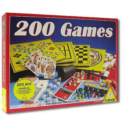 Piatnik Набор настольных игр 200 игр ( 780233 )