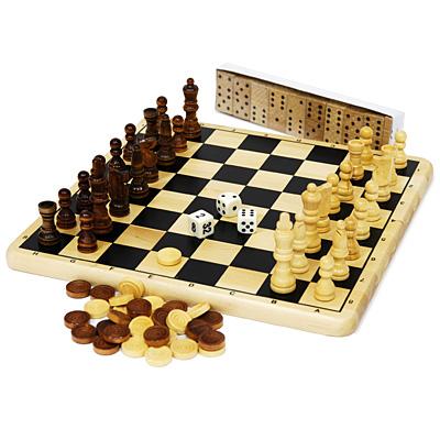 """Игровой набор Tactic """"Collection Classique"""", 5 в 1 ( 14006 )"""