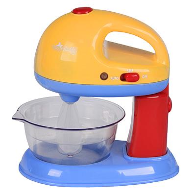 Игровой набор Миксер цвет розовый, сиреневыйPlay 3160Игровой набор Миксер привлечет внимание Вашего малыша и не позволит ему скучать. Набор включает в себя миксер с чашей, который имитирует звук и работу настоящего миксера, и два венчика. С таким набором Ваш малыш сможет приготовить для своих игрушек вкусный десерт. Порадуйте его таким замечательным подарком!