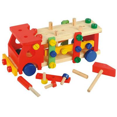 Мир деревянных игрушек Конструктор Машина