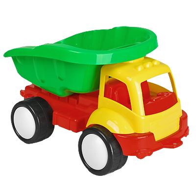 Stellar Грузовик Жук цвет кабины желтый01415_желтая кабинаЯркий грузовик Жук обязательно понравится малышу и доставит ему много удовольствия от часов, посвященных игре с ним. Грузовик имеет вместительный кузов и большие колеса. Занятия с такой игрушкой помогут малышу развить цветовое восприятия, воображение и мелкую моторику рук. Порадуйте своего малыша таким замечательным подарком! Характеристики: Размер грузовика: 39 см х 23 см х 22 см. Уважаемые клиенты! Обращаем ваше внимание на возможные изменения в цветовом дизайне некоторых элементов товара. Поставка осуществляется в зависимости от наличия на складе.