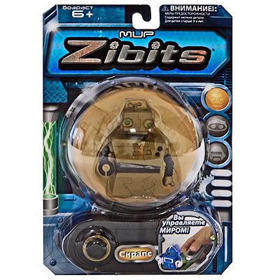 Радиоуправляемый мини-робот Zibits `Скрапс`