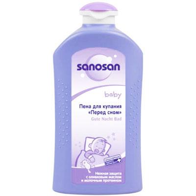 Пена для купания Sanosan baby Перед сном, 500 мл