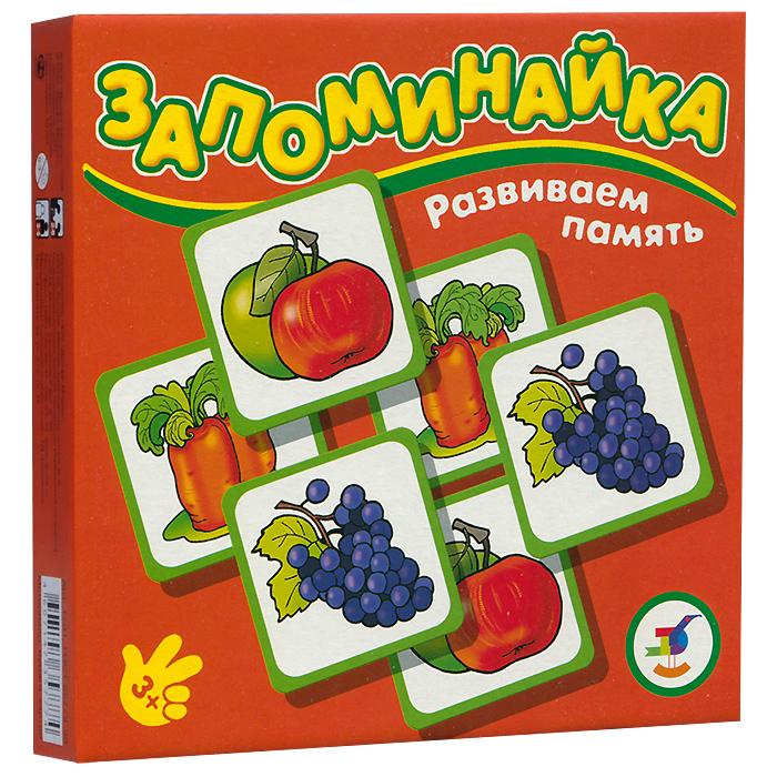 """Развивающая игра """"Развиваем память: Овощи и фрукты"""", 24 элемента"""