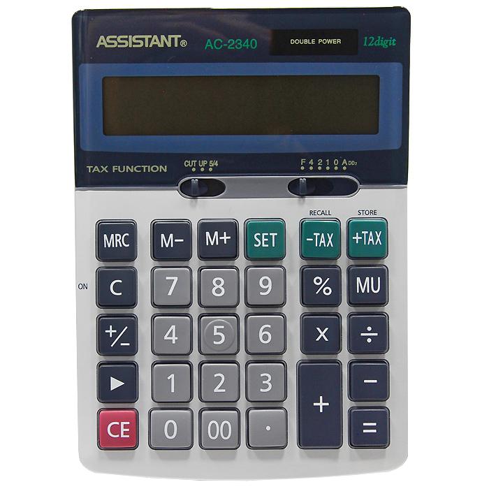 """Калькулятор """"Assistant AC-2340"""", 12-разрядный ( AC-2340 )"""