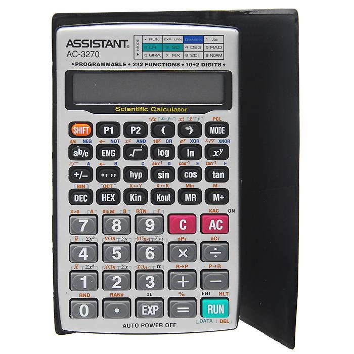 """Калькулятор инженерный """"Assistant AC-3270"""", 232 функции ( AC-3270 )"""