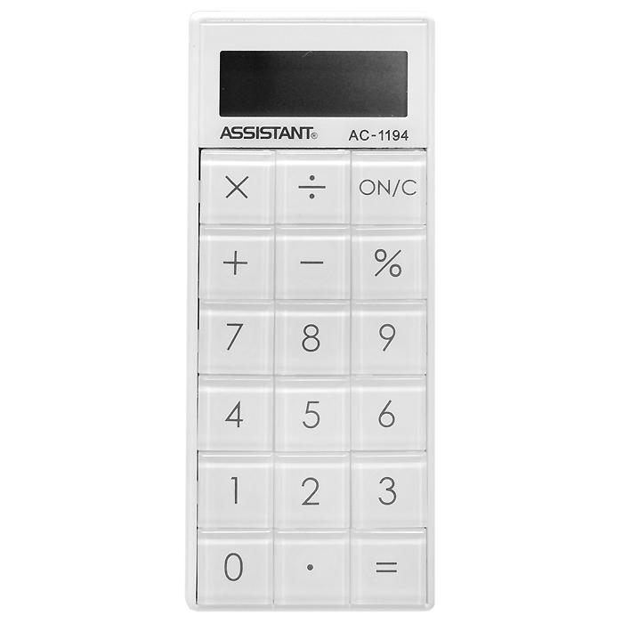 """Калькулятор """"Assistant AC-1194"""", 8-разрядный ( AC-1194 )"""