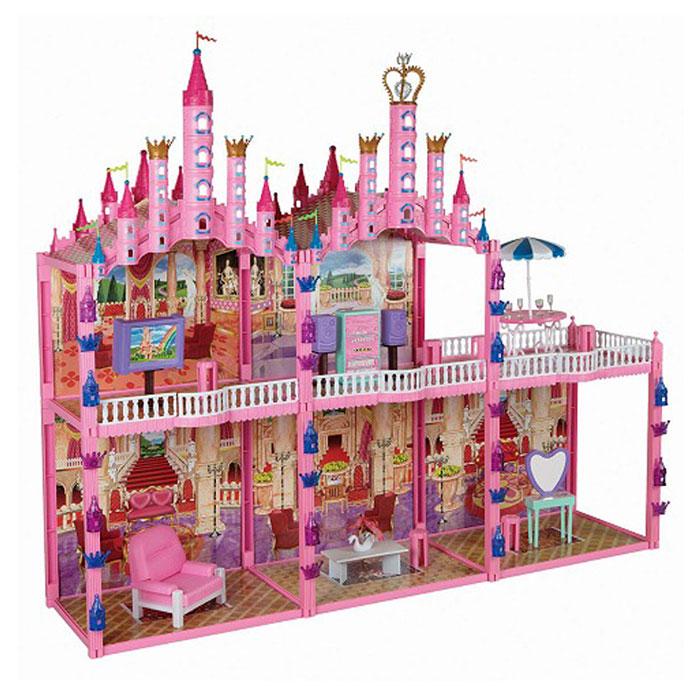 1TOY Дом для кукол Замок для принцессы