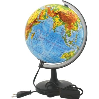 """Глобус """"Rotondo"""" с физической картой мира, с подсветкой. Диаметр 20 см"""