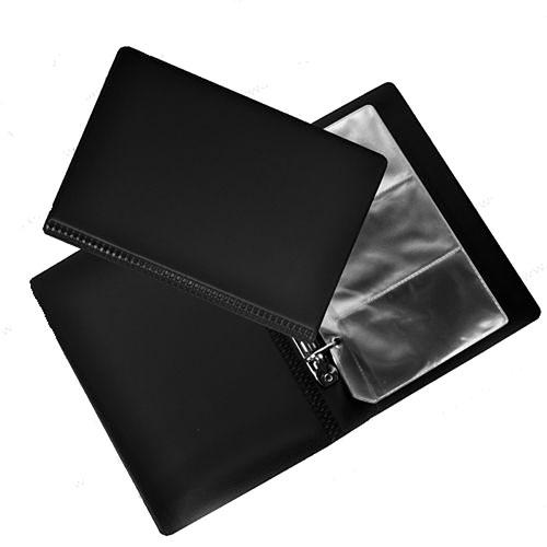 """Визитница """"Panta Plast"""", на 120 визиток, цвет: черный"""