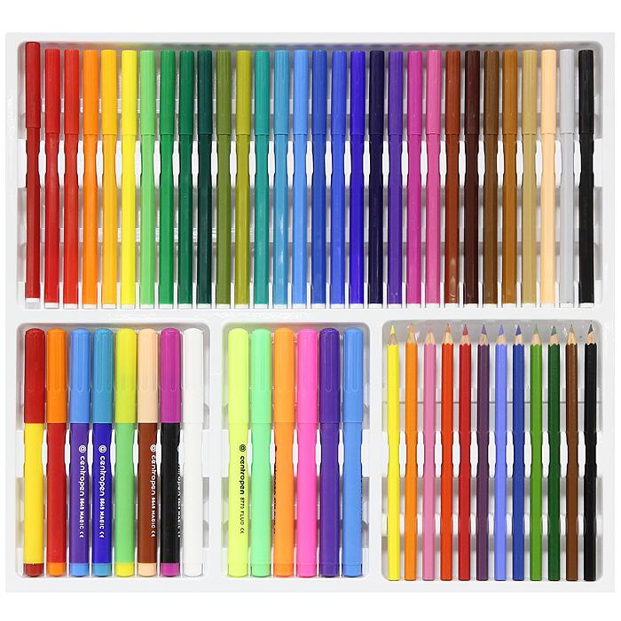 """Набор для рисования """"Quatro II"""", 60 предметов ( 8595013610534 )"""
