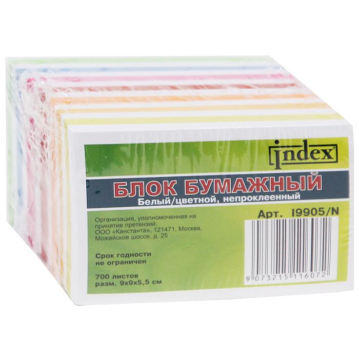 """Блок для записей """"Index"""", 700 листов. I9905/N"""